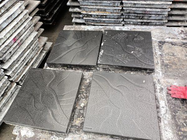 khuôn gạch giả đá KT 40x40x4.8cm