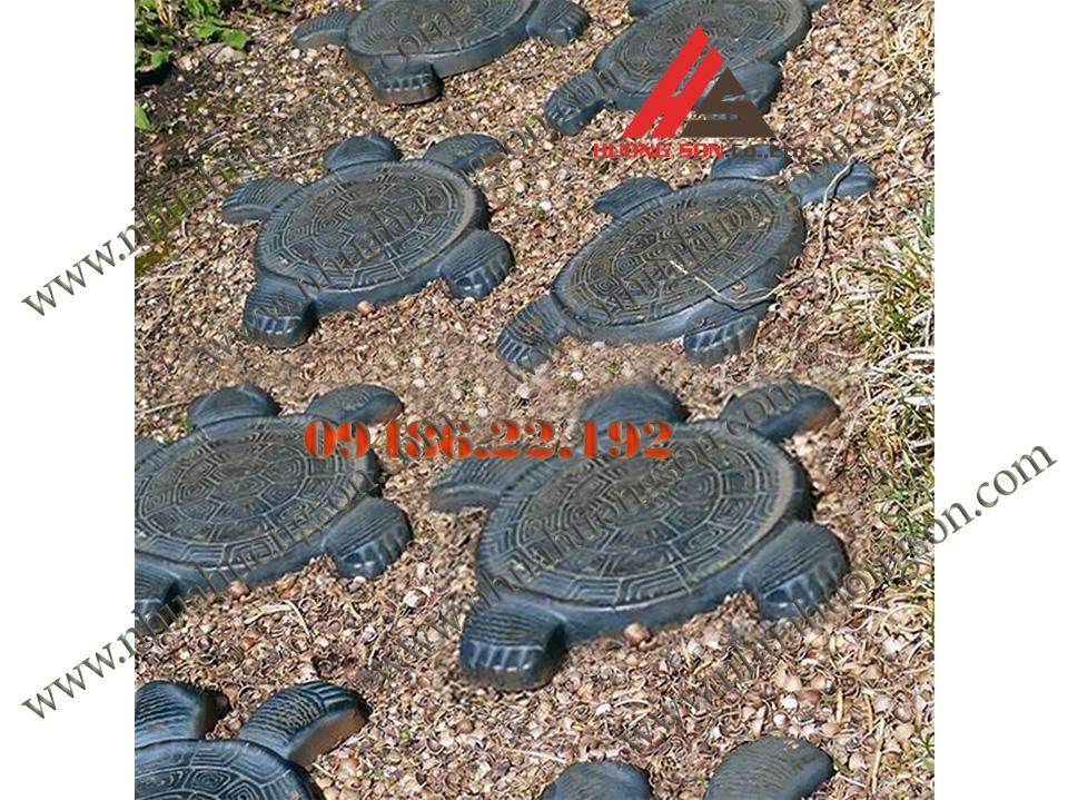 Khuôn gạch con rùa