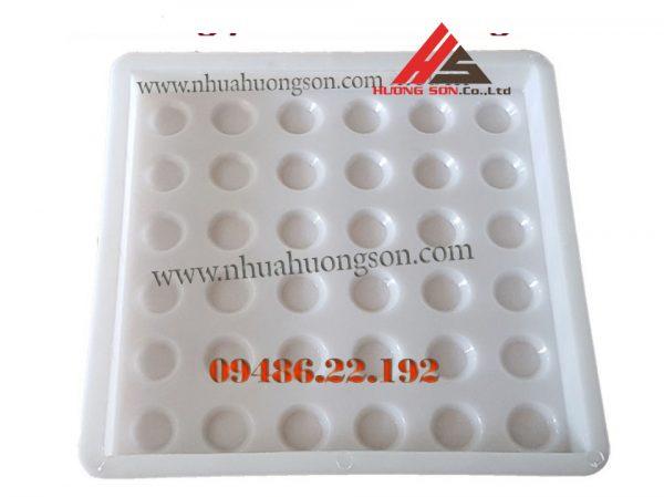 Khuôn nhựa làm gạch 40x40x3cm