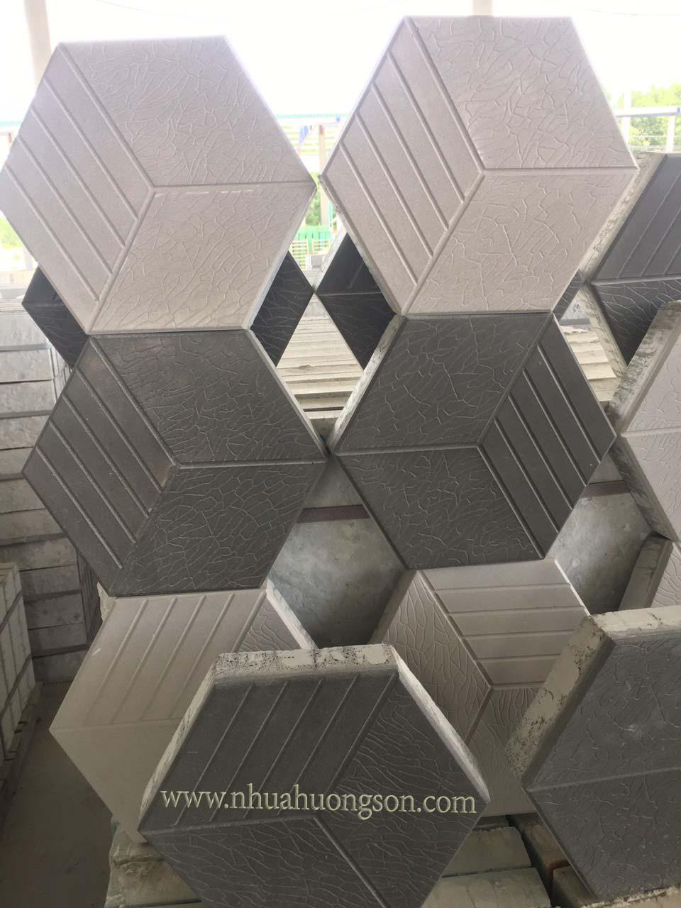 lục giác 3D