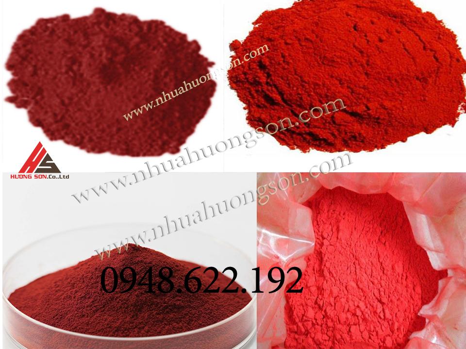bột oxit màu đỏ