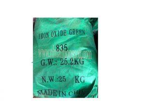 bột oxit màu xanh lá